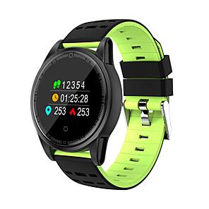 ieftine Părți Motociclete & ATV-r13s brățară inteligentă 0.95 hd ecran color cu ritm cardiac tensiunii arteriale oxigen tracker pentru Android& ceasuri inteligente ios