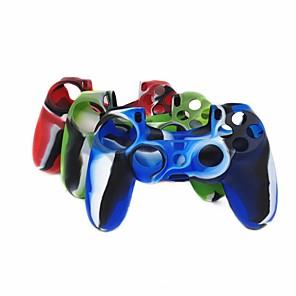 ieftine Accesorii PS4-joc protector caseta de controler pentru ps4, controler de joc protector de caz silicon 1 buc unit
