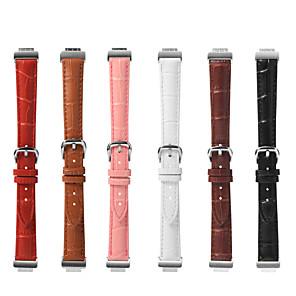 ieftine USB-uri-Uita-Band pentru Fitbit Inspire HR / Fitbit Inspire Fitbit Curea din piele / Catarama moderna Piele Autentică Curea de Încheietură