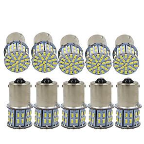 ieftine Becuri De Mașină LED-10pcs 1156 Mașină Becuri 3 W SMD 3014 600 lm 50 LED Bec Semnalizare / Lumini de frână / Luminile de inversare (de rezervă) Pentru Παγκόσμιο Toți Anii