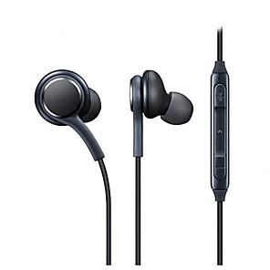 זול אוזניות קוויות-LITBest S8 אוזניות חרוכות באוזן חוטי מיקרופון עם מיקרופון עם בקרת עוצמת הקול בקרת טלפון טלפון נייד