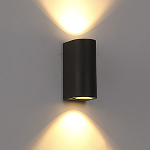 ieftine Abajure Perete-ONDENN Rezistent la apă / Model nou LED / Modern contemporan Becuri de perete Interior / Exterior Metal Lumina de perete IP 68 85-265V 7 W