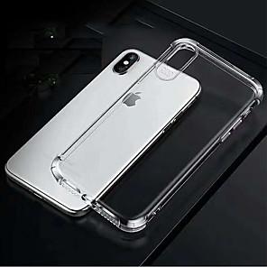 povoljno iPhone maske-jabuka četverokutni zračni jastuk nepropusni tpu mekana kućica za mobitel za Apple iPhone6 / 6s / 7/8 / 7plus / 8plus / x / xs / xr / xsmax