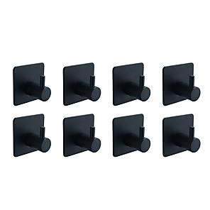 ieftine Gadget Baie-Set Accesorii Baie / Prosop Baie / Agățătoare Capot Auto- Adeziv / Cool / Multifuncțional Contemporan / Antichizat Teak 8pcs - Baie Single / 1-Bar prosoape / prosop inel Montaj Perete