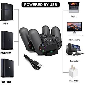 ieftine USB-uri-ps4 încărcător dual controler dual usb încărcător încărcător seturi de bază încărcător