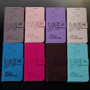ieftine Imbracaminte & Accesorii Căței-Maska Pentru Samsung Galaxy S9 / S9 Plus / S8 Plus Portofel / Titluar Card / Întoarce Carcasă Telefon Animal Greu PU piele