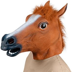 ieftine Alte RC-Cap de Cal Mască de Halloween Decorațiuni de Halloween Masca pentru animale Jucarii de Halloween Cauciuc Fun & Whimsical Partidul costumelor Înfiorător Amuzant cap de cal Costume Teme Horor Adulți