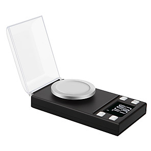 ieftine Lupe-0.005g 50g laborator de înaltă precizie de laborator greutate echilibru bijuterii diamante ierburi grame de aur digitale electronice