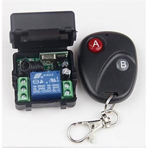 ieftine Switch inteligent-Switch inteligent AK-RK01+AK-BF02 pentru Zilnic / Mașină / Dormitor Stil Minimalist / Siguranță / Controlat de la distanță La distanță Wireless 12 V