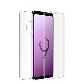 halpa Korvakorut-Samsung GalaxyScreen ProtectorS9 Teräväpiirto (HD) Näytön- ja takakannen suoja 1 kpl Karkaistu lasi