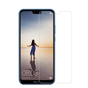 cheap Huawei Screen Protectors-HuaweiScreen ProtectorHuawei P20 lite High Definition (HD) Front Screen Protector 1 pc Tempered Glass