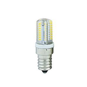 ieftine Becuri Incandescente-1 buc 3 W Becuri LED Corn 300 lm E14 T 64 LED-uri de margele SMD 3014 Decorativ Adorabil Alb Cald Alb Rece 110-130 V
