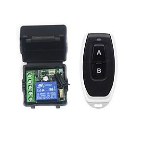 זול ממיר מתח-החלפה חכמה AK-RK01SY+AK-J027 ל יומי / מכונית נשלט מרחוק / רב שימושי / קל להתקנה מרוחק אלחוטי 12 V