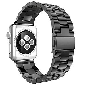 Недорогие Ремешки для Apple Watch-Ремешок для часов для Серия Apple Watch 5/4/3/2/1 Apple Современная застежка Нержавеющая сталь Повязка на запястье