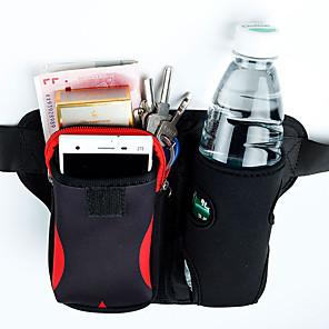 Недорогие Универсальные чехлы и сумочки-Чайник сумка талии сумка для мужчин и женщин путешествия многофункциональный двойной спортивный водонепроницаемый регулируемый дорожная сумка карман 6 дюймов