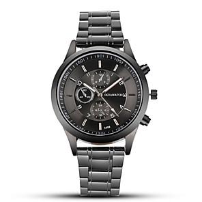 ieftine Ceasuri Bărbați-ogy bărbați oțel curea ceas negru de afaceri ceas cuarț ceas