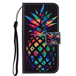 ieftine USB-uri-Maska Pentru Samsung Galaxy A5(2018) / Galaxy A7(2018) / A3 (2017) Portofel / Titluar Card / Cu Stand Carcasă Telefon Decor / Animal Greu PU piele