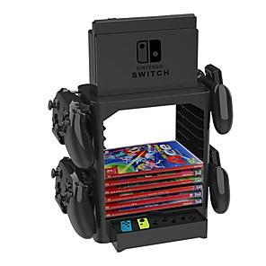 ieftine Accesorii Nintendo Switch-kituri de suport / suport pentru mâner pentru comutator nintendo, seturi de suporturi creative / suport pentru mâner pvc (policlorură de vinil) 1 buc