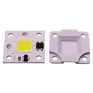 저렴한 LED 제품-1pc 10w 미니 diy 무료 드라이브 주도 smd 스마트 IC led 플립 칩 ac 220v 흰색 따뜻한 흰색 led 홍수 빛 스포트 라이트