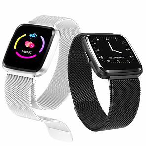 povoljno Muški satovi-y7 plus pametni sat ip67 vodootporni fitness tracker bend monitor otkucaja srca krvni tlak žene muškarci sat smartwatch za Android ios