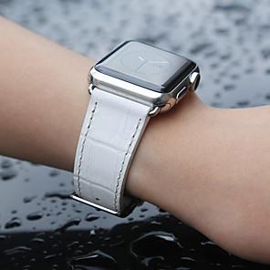 povoljno Zidni ukrasi-krokodil traka remen za jabuka sat serije smart sat serije 4/3/2/1 bijela