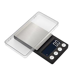 povoljno Digitalne vage-visoku preciznost džepni nakit vage ravnotežu 0.05g-500g prijenosni digitalni laboratorij težinu gram ljestvica korištenje