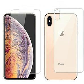 Недорогие Защитные пленки для iPhone 6s / 6-защитная пленка для экрана Apple iPhone 6/7/8 / х / х / х макс макс iphone 6 plus / 6splus / 7plus / 8plus закаленное стекло 1 передняя панель&усилитель; задний протектор высокой четкости (HD) /