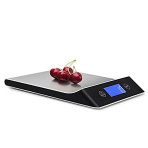 ieftine Jucării cu Magnet-5g-10kg scară digitală de gătit instrument de măsurare din oțel inoxidabil electronic greutate scară lcd afișaj bucătărie scară