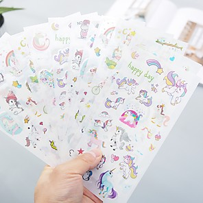 ieftine Organizatoare Birou-Tiv & Ornamente / Consumabile DIY / Autocolant Hârtie 6 pcs 1 pcs