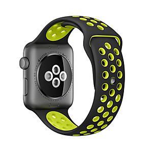 povoljno Apple Watch remeni-traka za jabuke sat serije 5/4/3/2/1 jabuka klasična kopča silikonski remen za ručne zglobove 38mm 40mm 42mm 44m