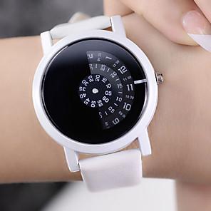 ieftine Ceasuri Damă-Pentru femei Quartz Quartz Stl Negru / Alb Model nou Ceas Casual Analog Casual Modă - Alb Negru Negru+Alb Un an Durată de Viaţă Baterie