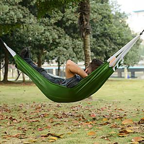 ieftine Echipament Outdoor-Naturehike Hamac de Camping În aer liber Portabil Ultra Ușor (UL) Pliabil pânză pentru 1 persoană Vânătoare Pescuit Plajă Portocaliu Trifoi 190*72 cm