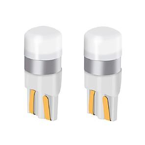 ieftine Becuri De Mașină LED-2pcs t10 w5w masina condus bec 9v-24v 200lm ultra-luminos condus lampa placă de înmatriculare lumini / lumini de semnalizare rând / lumina coada / lampa dom
