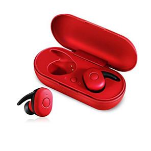 povoljno Zidni ukrasi-dt-1 tws mini bluetooth slušalice v5.0 istinite bežične slušalice stereo vodootporne sportske slušalice s mikrofonom