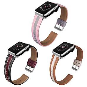 ieftine Audio & Video-Uita-Band pentru Apple Watch Series 5/4/3/2/1 Apple Catarama Clasica Piele Autentică Curea de Încheietură