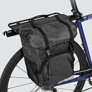 ieftine Diode-ROSWHEEL 15 L Geantă Bicicletă Pannier Capacitate Înaltă Impermeabil Durabil Geantă Motor Pânză 300D Poliester Geantă Biciletă Geantă Ciclism Ciclism Bicicletă șosea Bicicletă montană Exterior