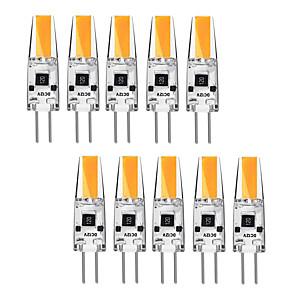 ieftine Becuri LED Bi-pin-kwb 10pcs 3 watt g4 led bi-pin bază 12v bec bec cald alb și alb halogen g4 30w condus de înlocuire