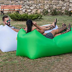 ieftine Lenjerie Pat Tabără-Canapea cu Aer Saltea Pneumatică Saltea Penumatică Canapea ideală pentru design În aer liber Camping Impermeabil Portabil Rezistent la umezeală Oxford 260*70 cm Camping & Drumeții Plajă Voiaj pentru