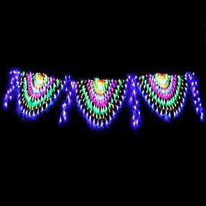 ieftine Fâșii Becurie LED-4m Fâșii de Iluminat 420 LED-uri 1set RGB + alb Rezistent la apă / Creative / Petrecere 220-240 V