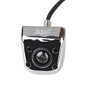 ieftine Huse de Scaun & Accessorii-ZIQIAO 720 x 480 CCD Cablu 170 Grade Cameră vedere retrovizoare Rezistent la apă pentru Mașină