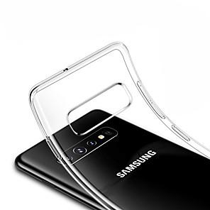 Недорогие Чехол Samsung-Кейс для Назначение SSamsung Galaxy S9 / S9 Plus / S8 Plus Прозрачный Кейс на заднюю панель Прозрачный Мягкий ТПУ
