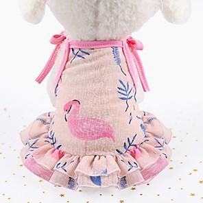 ieftine Imbracaminte & Accesorii Căței-Câini Pisici Rochii Σμόκιν Îmbrăcăminte Câini Mov Roz Costume Beagle Shiba Inu Mops Plasă Animal Floral / Botanic Stele Modă Cute Stil XS S M L XL XXL
