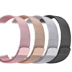 ieftine Benzi Lumină LED-Uita-Band pentru Apple Watch Series 5/4/3/2/1 Apple Curea Milaneza Oțel inoxidabil Curea de Încheietură