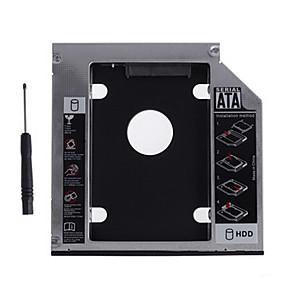 ieftine Carcase de Hard Drive-Carcasă din aluminiu din aluminiu sata de 12,7 mm pentru laptop