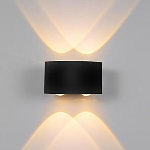 ieftine Abajure Perete-ONDENN Rezistent la apă LED / Modern contemporan Becuri de perete Interior / Exterior Metal Lumina de perete IP65 85-265V 1 W