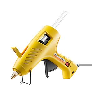 ieftine Cercei-fierbinte pistol de lipit 60-100w duale putere fierbinte topit cu arzător cu echipamente de distribuire a temperaturii industriale reglabile