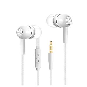 זול אוזניות קוויות-LITBest vpb s12 אוזניות חרוכות באוזן חוטי טלפון נייד סטריאו עם מיקרופון בקרת InLine