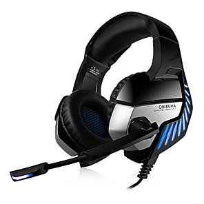 povoljno Samsung oprema-LITBest ONIKUMA K5 pro Slušalice za igranje Žičano Gamerske Glazba Stereo S mikrofonom Buka-Otkazivanje Igranje