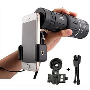 ieftine Microscop & Endoscop-16x52 obiectiv de înaltă putere hd obiectiv telescopic monocular dual focus scop scop cu viziune pe timp de noapte include montare universal smartphone și trepied vopsea impermeabilă dovadă compacte