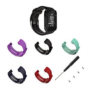 hesapli Garmin İçin Saat Kordonları-Watch Band için Forerunner 35 Garmin Spor Bantları / Klasik Toka Silikon Bilek Askısı